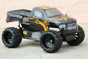 rc monster truck 30cc 4ps 80km h 1 5 verbrenner 1 6 xtc ebay. Black Bedroom Furniture Sets. Home Design Ideas