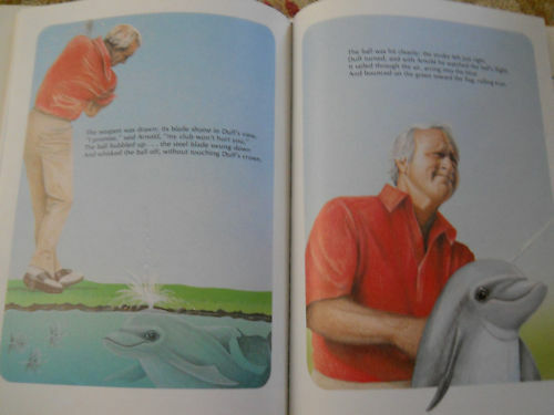 1st Ed Arnold Palmer/ Golfin' Dolphin Book/Movie Rights