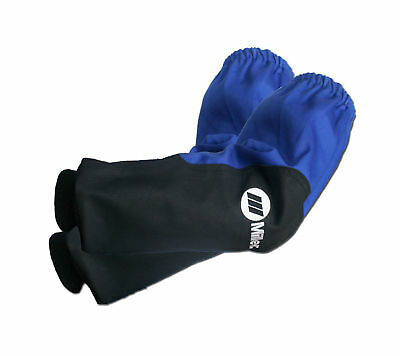 MILLER 231096 Combo Welding Sleeves INDURA/ Leather ( 3 PAIRS  of sleeves)