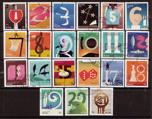 NEW-ZEALAND-2011-COUNTING-IN-KIWI-SET-OF-21-STAMPS-FINE-USED