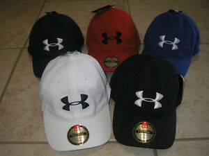 NWT-MEN-039-S-UNDER-ARMOUR-HEAT-GEAR-CLASSIC-ADJUSTABLE-CAP-HAT-ONE-SIZE-FIT-ALL