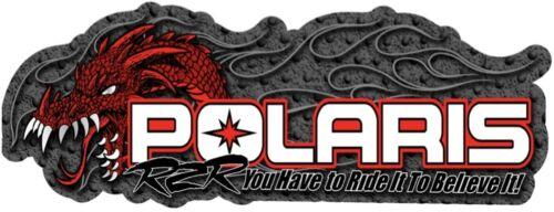 Polaris RZR decal Trailer Graphic Sticker. Razor Decal. HPDEC-0005