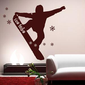 10086-wandtattoo-loft-autocollants-tatouage-mural-SNOWBOARD-SKI-HIVER-GLACE-tube