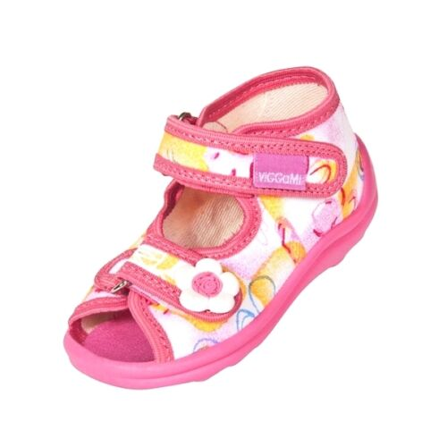BABY GIRLS CANVAS SHOES SANDALS UK SIZE 3.5-9 / EUR 20-27 - AWESOME COLOURS !