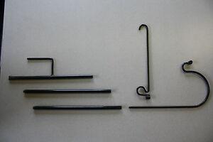 DECORATIVE-PLANT-HANGER-FLAG-HOLDER-BIRD-FEEDER-POLE-LAWN-DECORATIONS