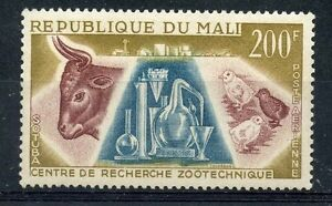 Mali-stamp-air-post-no-15-zootechnical-research