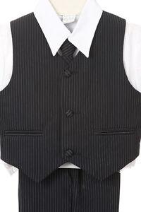 NEW-Infant-Boy-amp-Toddler-Wedding-Easter-Formal-Suit-Navy-sz-M-XL-2T-3T-4T-5-6-7