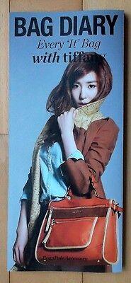 SNSD Girls' Generation TIFFANY/Bean Pole Accessory/Fashion Catalog/BRAND NEW-1