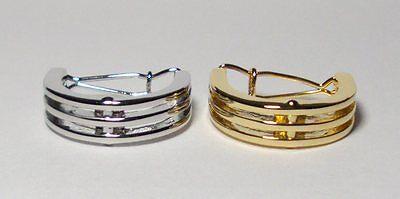 Combo tie ring  charm pendant clip tack bling saddle seat TWO set gold white K