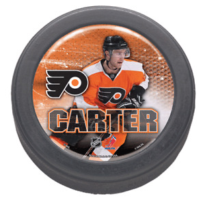 Philadelphia-Flyers-Jeff-Carter-Domed-Collectors-Puck