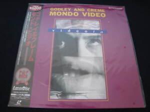 Godley-Creme-Mondo-Video-Japan-Laserdisc-OBI-10cc-New