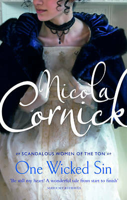 """AS NEW"" Cornick, Nicola, One Wicked Sin, Book"