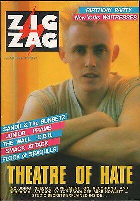 ZIGZAG No 125 May 1982 John Cooper Clarke Diamanda Gallas Theatre Hate Nick Cave