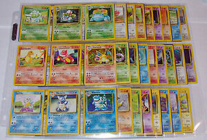 Pokemon-Card-COMPLETE-SETS-Original-151-150-Base-Jungle-Fossil-Gym-Neo-Rocket