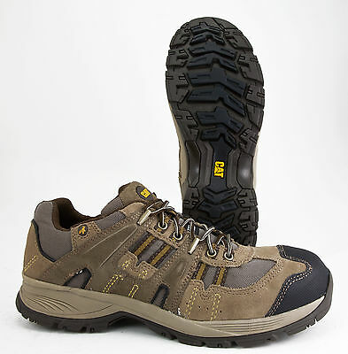 CATERPILLAR ACTIVATOR BROWN LEATHER STEEL TOE OIL RESISTANT EH #89919