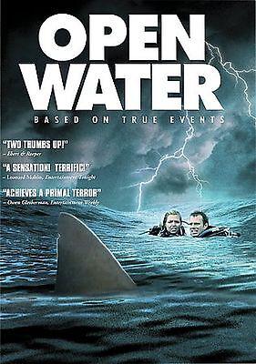 Open Water DVD Horror Blanchard Ryan Daniel Travis Saul Stein Michael Williamson