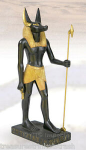 Anubis-God-Of-Mummification-Egyptian-Statue-Figurine-Museum-Replica