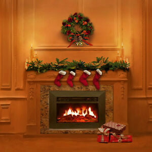 image is loading christmas tree indoor fireplace 10x10 cp photo scenic