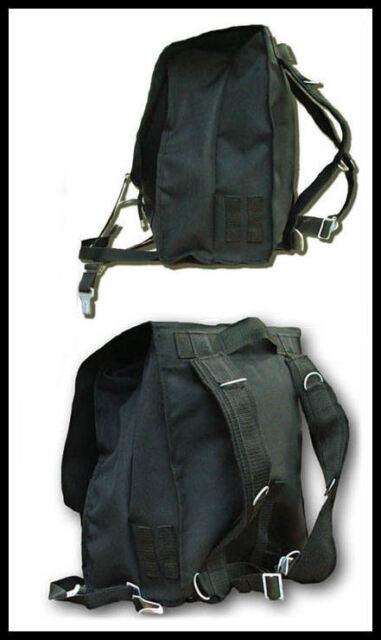 BENEDICTION  === Black Military Backpack === Various Designs