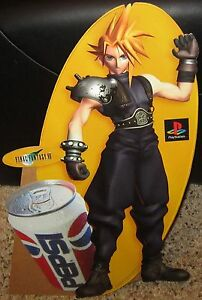 Final-Fantasy-VII-7-Store-Display-Cloud-Standee-Playstation-Square-Soft-Pepsi