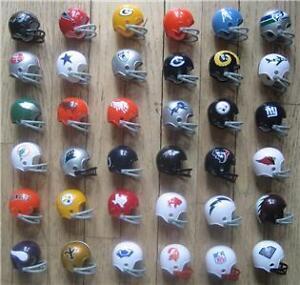AFL  NFL Riddell Throwback Pocket Pro Mini Helmet Complete Set  eBay