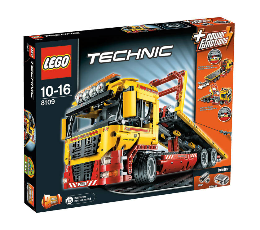 Lego Camión de súperficie Plana (8109)