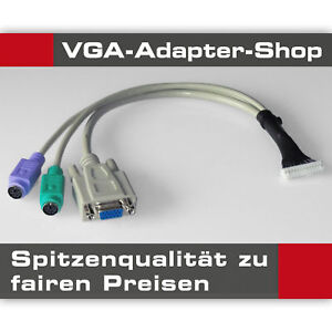 VGA-adaptateur-HP-Media-Smart-ex470-ex485-ex487-ex490-ex495