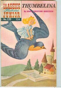 Classics-Illustrated-Junior-520-FR-G-Thumbelina