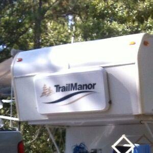 Trailmanor Decal Rv Trail manor Sticker Decals camper trailer stickers graphics