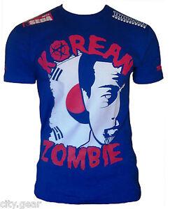 Traumma-Combat-Korean-Zombie-Seda-Shirt-Blue-ufc-mma-chan-sung-jung