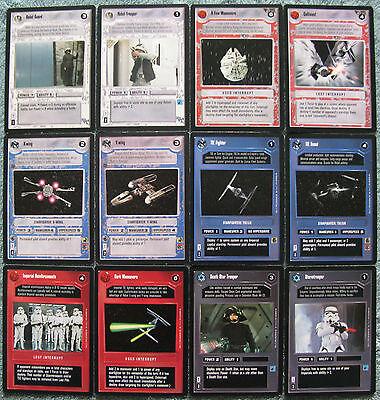 Star Wars CCG Premiere Complete Common Set (Black Border)