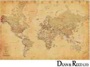 World-Map-Vintage-Style-Maxi-Poster-61cm-x-91-5cm-PP31841-0207