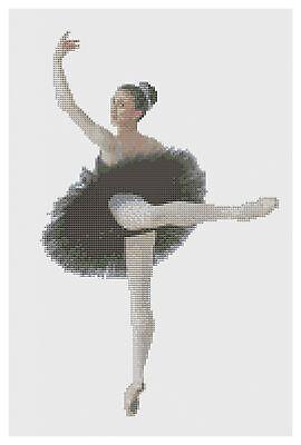 Prima Ballerina Cross Stitch Kit by Florashell