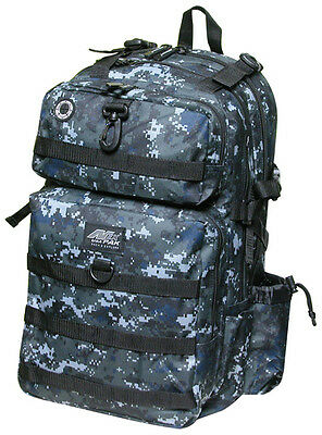 BLACK DIGITAL CAMO Large Backpack Hunting Day Pack DP321 Camping TACTICAL  Army 1224a445c9