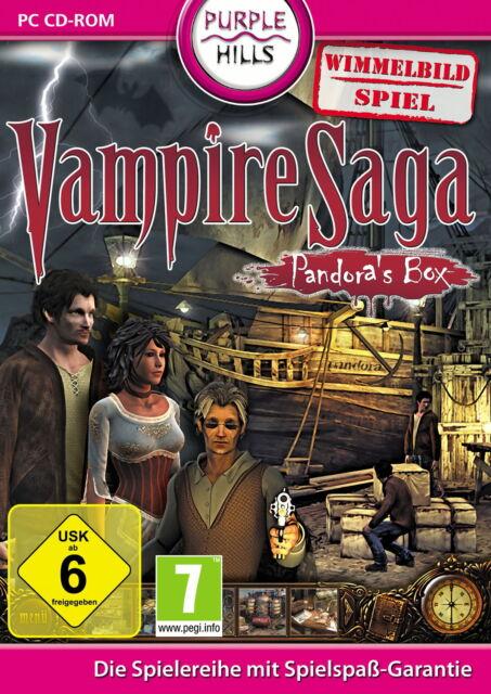 Vampire Saga: Pandora's Box (PC, 2010, DVD-Box)neu