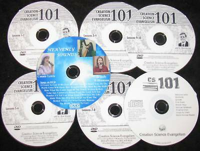 DVD Music+FREE 6 CSE 101 Hovind College Course Set NEW