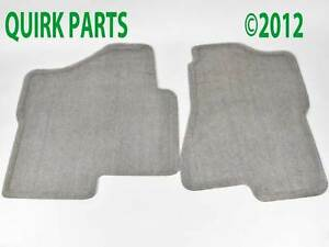 2004-2006-Suburban-Tahoe-Yukon-XL-Front-Carpet-Floor-Mats-Medium-Dark-Pewter-NEW
