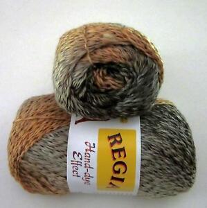 100-gram-ball-of-REGIA-HAND-DYE-EFFECT-fingering-weight-sock-yarn-color-6555