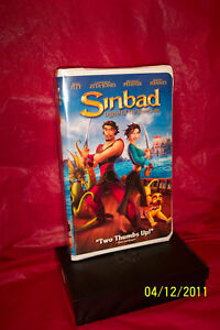 Sinbad: Legend of the Seven Seas (VHS, 2003, Clamshe ...
