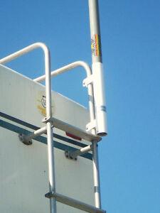 Rv Ladder Mount 16 Flag Pole Bracket Rv Bracket Ebay