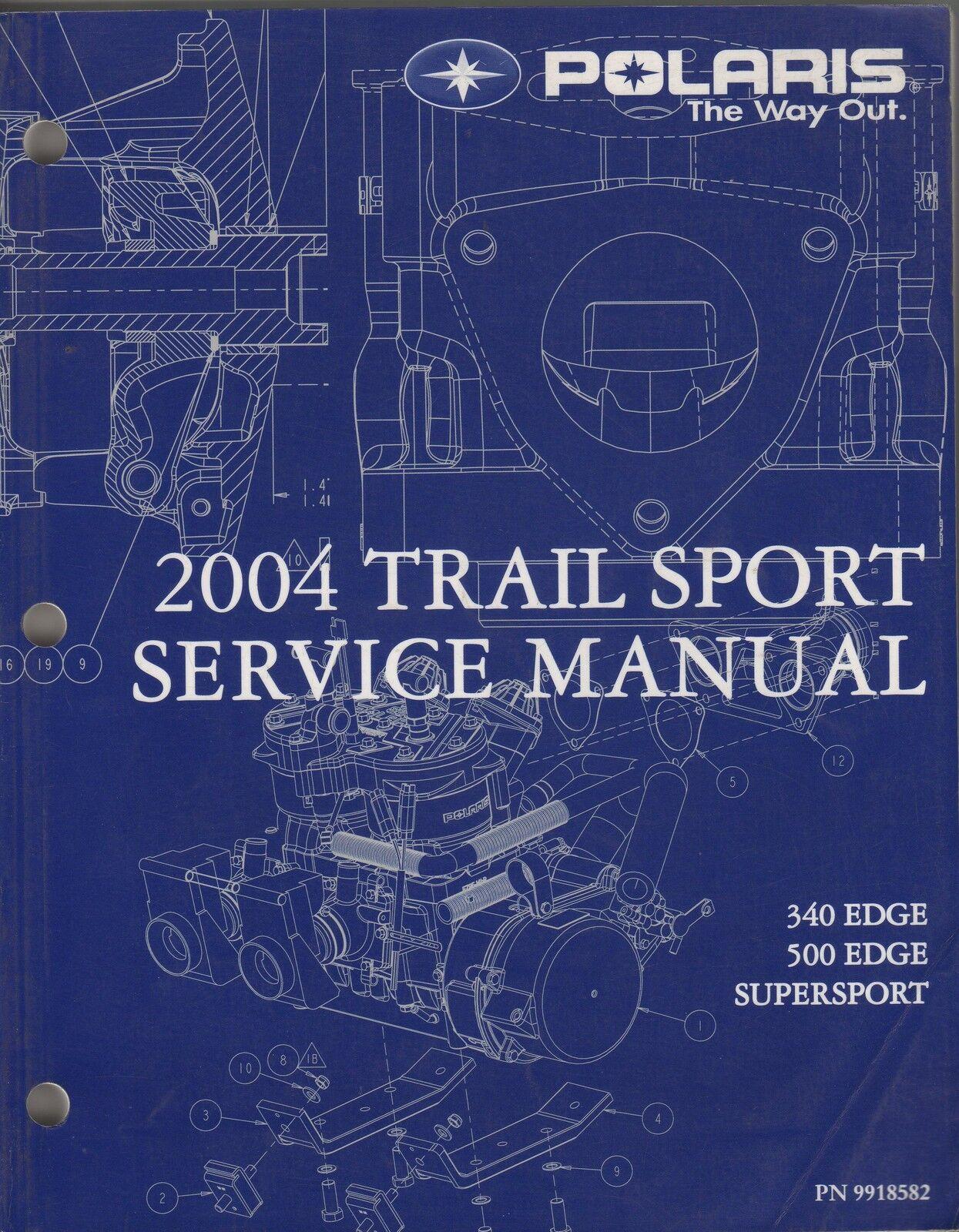 2004 POLARIS SNOWMOBILE TRAIL SPORT SERVICE MANUAL