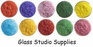 Bullseye-Kiln-Fusing-Glass-Frit-Sample-Packs-Summer-10-x-20g-Bags