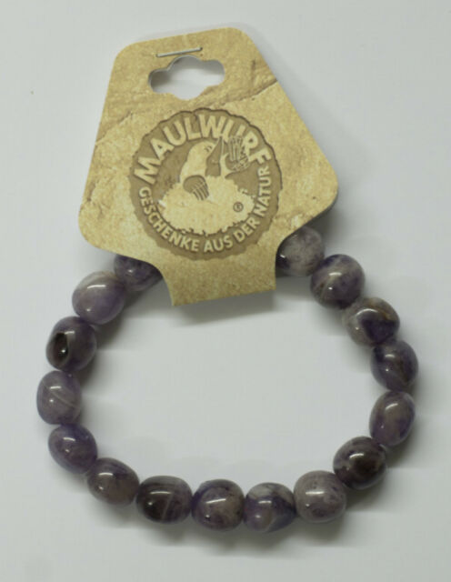 Edelstein-Armband Amethyst, Nuggets 10-12 mm