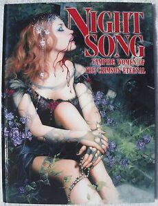 Night-Song-Vampire-Women-of-the-Crimson-Eternal-Exclusive-Hardcover-HC-Art-Rare