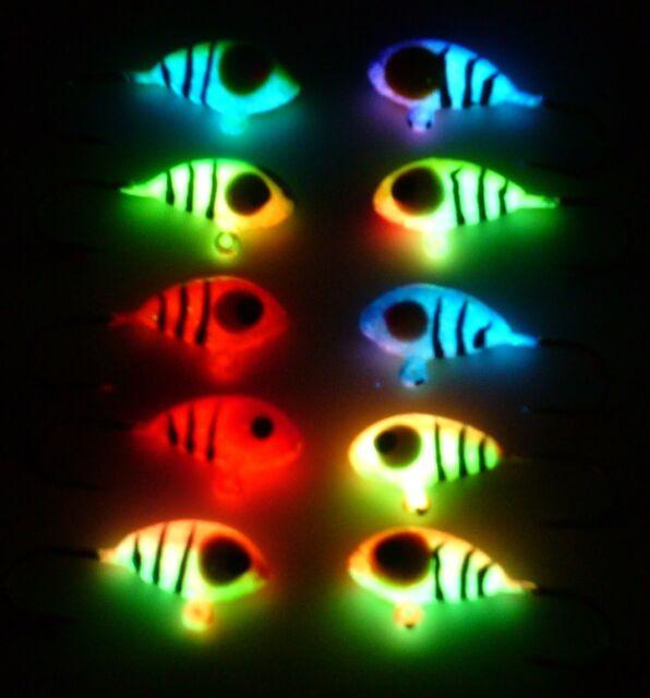 Wonder Jigs 10 pc. Worlds Best Super Hot Neon Tigers Size 8