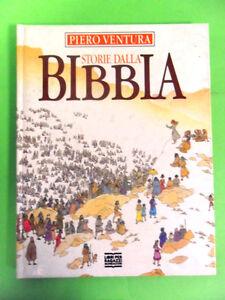 VENTURA-STORIE-DALLA-BIBBIA-MONDADORI-1-ED-1989-TESTI-BIANCA-PITZORNO