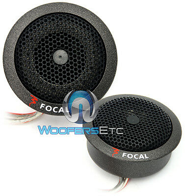 PAIR TN-B FOCAL CAR AUDIO TWEETERS FROM POLYGLASS COMPONENT SPEAKERS NEW
