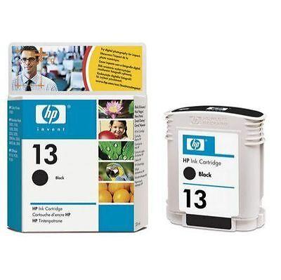 New, Genuine HP #13 Ink Set C4814A C4815A C4816A C4817A RtlPk 2009 Exp