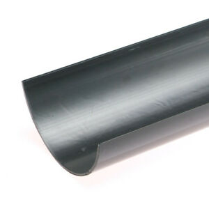Black-Half-Round-Guttering-and-Fittings-Gutter-Size-114mm-x-50mm-x-3-6m