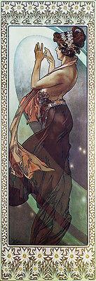 "Alphonse (Alfons) Mucha-Pole Star, 1902- 20""x48"" CANVAS ART"